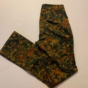 Obey duck camouflage pant size 28